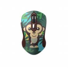 다얼유 LM115G 무소음 무선 마우스 몽키