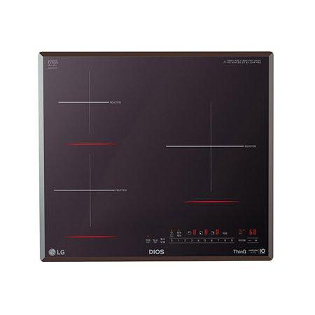 빌트인 인덕션 3구 BEI3MST (최고화력 3,300W, 미라듀어 글라스, 17종 안전장치)