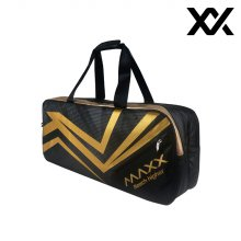 MAXX 배드민턴 가방 클래스백 3단 백팩 블랙골드