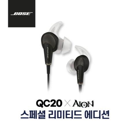 [정품]보스 QC20 노이즈캔슬링 이어폰[IOS전용][블랙][QC20 IOS]