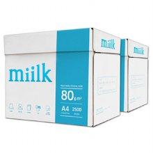 밀크 A4용지 80g 2박스(5000매) Miilk