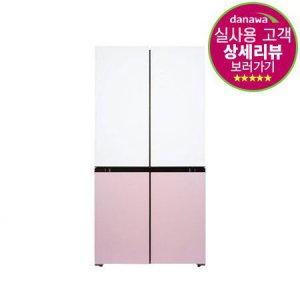 [포토상품평 증정] 피트인 파스텔 4도어 냉장고 HRF-SN566HBFR[566L]