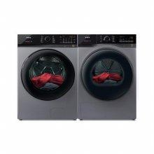 드럼 세탁기(23kg)+건조기(17kg) 세트 TMWM230-KSK+HGXH170-KSK (병렬설치, 메탈릭 그레이)