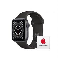 [Applecare+] 애플워치  6 GPS 40mm 스페이스그레이 알루미늄 케이스 블랙스포츠밴드