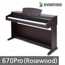 [히든특가]다이나톤 전자 디지털피아노 670PRO 로즈우드