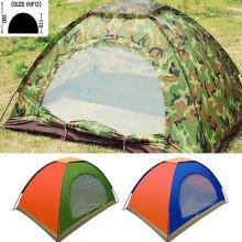 텐트 2인용(색상랜덤) 캠핑용품 낚시 등산 그늘막