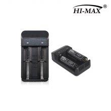 하이맥스 HI-MAX 18650 2구 동시충전기 1.5A 어답타