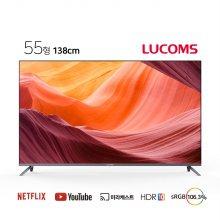 138cm UHD 솔로이즈 스마트 TV T5508CU (벽걸이형 기사설치)