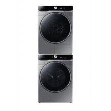 올인원 드럼 세탁기(23kg)+건조기(17kg) 세트 WF23T9500KP+DV17T9720SP (이녹스실버, 스태킹키트 포함)