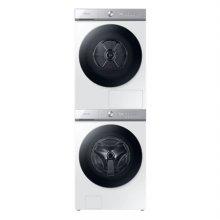그랑데 AI 드럼 세탁기(24kg)+건조기(19kg) 세트 WF24A9500KW+DV19A9740CW (화이트, 스태킹키트 포함)