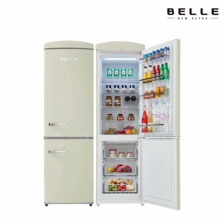 [하이마트 설치] 레트로 냉장고 상냉장 RC31BCM (309L)