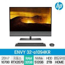ENVY 32-a1094KR 일체형PC / i7-10세대 / 4K / Win10 / 32GB / 512GB / 2TB