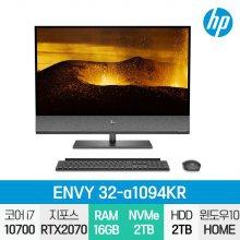 ENVY 32-a1094KR 일체형PC / i7-10세대 / Win10 / 32GB / SSD 2TB / HDD 2TB