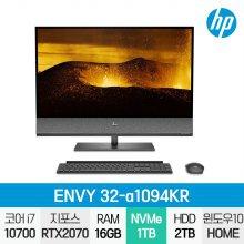 ENVY 32-a1094KR 일체형PC / i7-10세대 / Win10 / 16GB / SSD 1TB / HDD 2TB