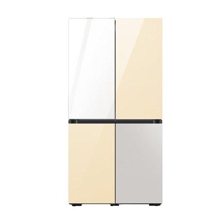 비스포크 4도어 냉장고 RF85A9241AP (866L, 색상조합형)