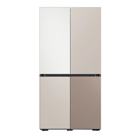 [온라인 한정수량 특가] 비스포크 4도어 냉장고 RF85A9103AP (875L, 색상조합형)