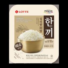 롯데 한끼 십리향 즉석밥 210gx10개입/누룽지향밥