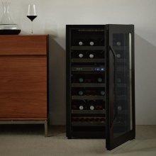 보보스 와인 냉장고 JC-32A (34병, 블랙)