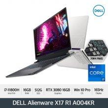 [예약판매/신제품] DELL 에일리언웨어 X17 R1 A004KR [i7/16GB/512GB/FHD 165Hz/RTX 3080/Win10 Pro]