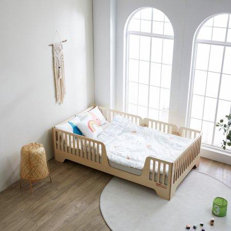 로이 자작나무 침대 - 싱글1000_매트리스 포함
