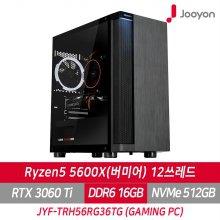 게이밍컴퓨터 JYF-TRH56RG36TG 라이젠5 5600X/RTX 3060TI/SSD 512G/RAM 16G/프리도스