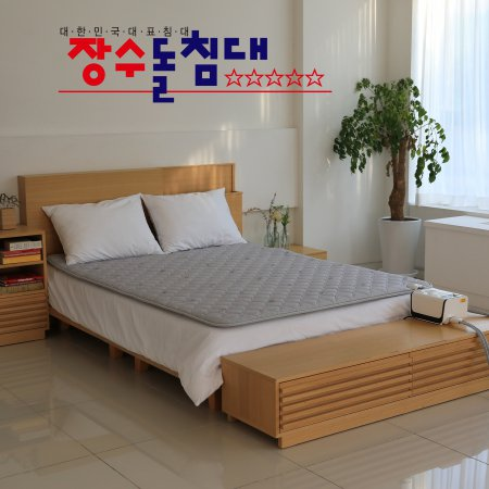 장수돌침대 쿠션 온수매트 싱글 JSB-0519S