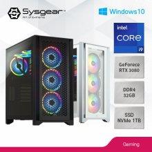 SYSGEAR CORSAIR iCUE11938W(인텔 11900KF+RTX 3080+윈도우10탑재)