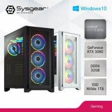 SYSGEAR CORSAIR iCUE5938W(AMD 5900X+RTX 3080+윈도우10탑재)