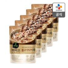 [CJ제일제당] 비비고 불고기낙지죽 420g x 5개