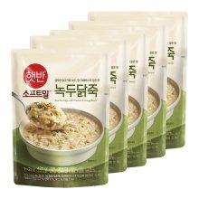 [CJ제일제당] 비비고 녹두닭죽 420g x 5개