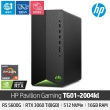 [상급 리퍼상품 단순변심] 파빌리온 데스크탑 TG01-2004kl 라이젠5/512GB/16GB/RTX3060Ti/Freedos