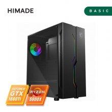 컴퓨터코리아 게이밍 컴퓨터 라이젠 R5 5600X/GTX1660Ti/SSD 500G/RAM 16G/프리도스