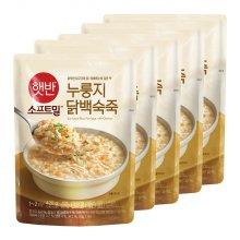 [CJ제일제당] 비비고 누룽지닭백숙죽 420g x 5개