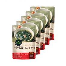 [CJ제일제당] 비비고 소고기미역국 500g x 5봉