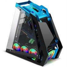 다얼유 태풍의눈2 DIY 게이밍 PC 튜닝 케이스 RGB 7팬