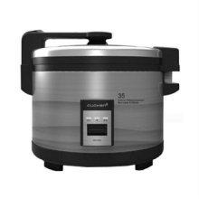 업소용 전기 보온밥솥 35인용 WM-3503 (불소수지 테프론코팅 내솥, 뜸기능, bar형 손잡이)