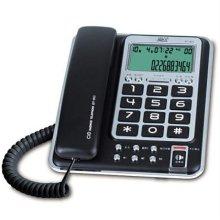 (스마트픽전용) 유선전화기 DT-911 [ CID기능(수신61개/발신16개) / 헤드셋 기능 탑재 ]