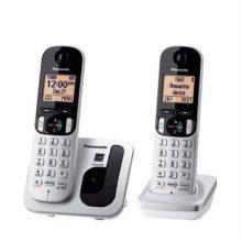 유무선전화기 KX-TGC212 [무선전화기(2개)/ 1.7GHz 디지털/ 스피커폰/ 에코절전기능/ 단축다이얼]