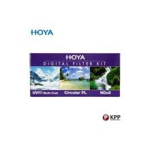 카메라 필터 HOYA DIGITAL 62MM KIT