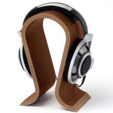 원목재질 헤드폰 변형방지 스탠드 OMEGA 제브라노