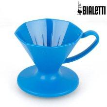 [이탈리아 국민 커피용품] 푸어오버 커피메이커 (블루) 1p