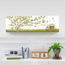 벽걸이에어컨커버 초록향기(74x27x19)