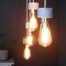 [LED] 에즈 4등 펜던트-에디슨 LED 에디슨 A타입