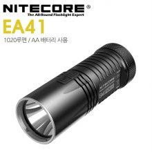나이트코어 LED 후레쉬 EA41 1020루멘 AA/4