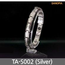 사노피아 게르마늄 티타늄 팔찌 TA-S002 (실버 S)