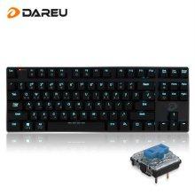 EK820 블루투스 겸용 슬림 LED 기계식 키보드 (청축)