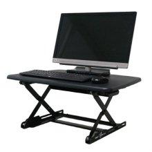 DeskTopDesk 높낮이 조절 스탠딩책상 DTD-S-MBK [몰딩블랙 / 소형 / 표준형]