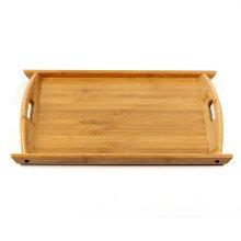 실속형대나무 손잡이 쟁반(대) (52cm×34.5cm)