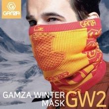 감자 FW 겨울마스크 MASK GW2 _블랙레드