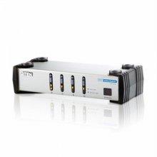 4포트 DVI/오디오 스위치